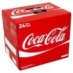 Coca Cola Regular  and Diet Coke 24 X 330Ml Packs Now £6 @ Tesco Instore and Online