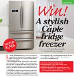 Win a spa break at Macdonald Berystede Hotel & Spa & Win a stylish Caple CAFF40 fridge freezer worth £1,566 & Win a chef and butler experience with Ocean Spray worth £1,400 @ Rosemary Conely Magazine