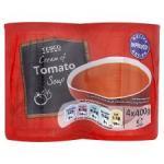Tesco Cream Of Tomato Soup 4X400g £1.00 @ Tesco