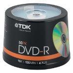 TDK Dvd-R 50 spindle - £2.99 Instore Tesco