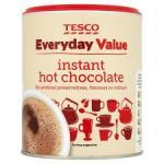Tesco Everyday Value Instant Hot Chocolate 400g for 48p @ Tesco.com