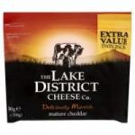 Lake District Mature Cheddar 700g for £2.50 @ Morrisons