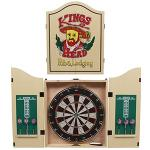 Kings Head Pub Dart Board in a decorated cabinet @ iBood £33.90 Delivered
