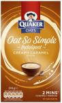 Quaker Oats Oh So Simple (Full Range) was between £2.29 and £2.69 now buy one get the second FREE @ Ocado