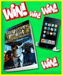 Win a iPod Touch and Skulduggery E Books plus 2 other comps @ Toxic Magazine