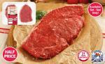 Fresh British Beef Rump Steak (400g) was £3.99 now £1.99 @ Lidl