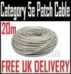 20M RJ-45 Cat 5e network patch cable - £1.68 at color-pro/eBay