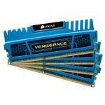 Corsair CMZ16GX3M4A1600C9B 16GB (4x4GB) 1600MHz CL9 DDR3 Vengeance Blu Memory Four Module Kit  - £59.99 @ Amazon uk