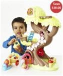 Happyland Forest Fairy Treehouse (& others) half price £20 del @ ELC