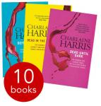 True Blood Collection 10 Books New Price £6.99 RRP £72.91 Free Del Code @ The Book People