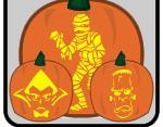 Free Pumpkin Carving Stencils to Print