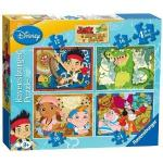 Jake and the Neverland Pirates 4 in a Box Puzzle now £3.99 del @ Amazon