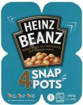 Heinz Beanz Snap Pots (4 x 200g) was £2.10 now £1.05 @ Tesco