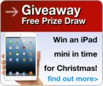 Enter our free prize draw to win an iPad mini @ Choice Stationery