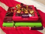 Thorntons Chocolates 5 for £20, 50% off and 10% off selected items