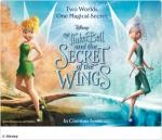Free Sky Movies Screening of Tinker bell and the secret of the wings in 3D - Up to 4 Tickets - 24th NOV