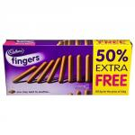 Cadburys Fingers (187.5g for the price of 125g pack) ONLY £1 @ Poundland