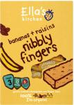 Ella's Kitchen Organic Banana and Raisin Nibbly Fingers 12mth+ (5x25g) ONLY £1.43 @ Asda