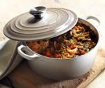 Win a Le Creuset cast iron Casserole in their new colour, Nutmeg @ Pots and Pans