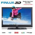 "Finlux 32H7020-D 32"" 3D LED HD TV USB PVR Recording 4x 3D Glasses £199.99 @ Ebay/ finluxuk"