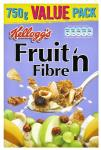Kellogg's Fruit & Fibre 750g for the price of 500g Now Only £2.00 @ Iceland