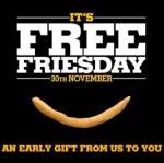 Burger King Free Fries this Friday, November 30th 2012