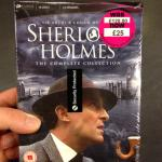 Sherlock Holmes Complete TV Series boxset - £25 down from £120 HMV