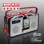 Viewquest Retro Dab/FM Radio with iPhone/iPod Dock - £30 (RRP £129.99) - Comet (Instore)