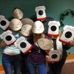 Free Stewie & Brian Mask (Family Guy) This Weekend @ GAME
