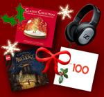EMI & Virgin Classics are giving away all our favourite Christmas releases and a brand new pair of Sennheiser headphones @ Emi Music
