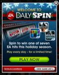 Enter the Daily Spin and win a free EA Mobile game! (iOS)
