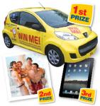 Win a brand new Peugeot 107, a fantastic FREE holiday or an Apple iPad @ Woolacombe Bay