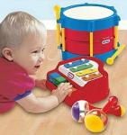 Little Tikes music makers gift set- Piano, drum & maracas £8 @tesco free click and collect