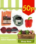 50p - Asda Vegetables (Carrots, Peppers, Onions, Cabbage) @ Asda