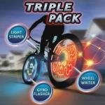 Light-Up Bike Effects (Triple Pack) - £12.99 delivered @ Zavvi_Outlet eBay