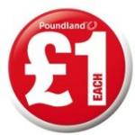 £3 off a £13 spend at POUNDLAND with voucher in the sun