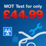 Unipart  Car Care Centre MOT Test for £44.99 in Truro