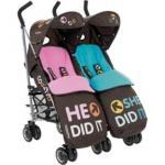cosatto twin stroller for a boy & girl @ argos for £109 - HotUKDeals