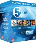 blu-ray starter pack + free Karate kid (6 films!) £10.95 @ thehut