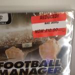 Football manager 2013 at Asda (instore)