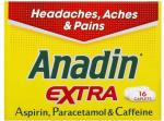 Anadin Extra 16 Pack Paracetamol £1 in ASDA (National) £1.80 everywhere else