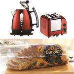 Win 1 of 2, the perfect breakfast set with Burgen bread @ Delicious Magazine