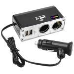 Trixes 2 Port Socket Car Cigarette Lighter USB Adaptor from Trixes £4.79 @ Play/Digiflex