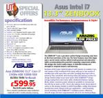 Asus ZenBook (full HD) from ijtdirect - £606.94