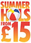 The Sun £15 summer holidays are back £15 a person based on 4 sharing