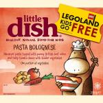 Free Legoland Ticket with Little Dish Meal