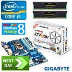 Gladiator Intel i5-3570K Ivy Bridge Quad-Core Unlocked Next Day Bundle  £333.59  @Aria