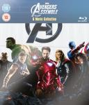 Marvel 6 Movie Collection (Avengers Assemble, The Incredible Hulk, Iron Man, Iron Man 2, Thor And Captain America) Blu-Ray - Sainsbury's Entertainment