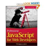 Professional Javascript for Web Developers (Wiley) at Amazon £16.49