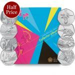 London 2012 complete 50p collection Folder & Medallion - Half price - £24 delivered @ The Royal Mint